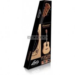 Lag T44D-P - Pack guitare folk