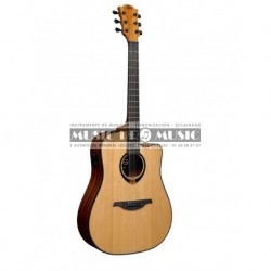 Lag T80DCE - Guitare électro-acoustique table massive