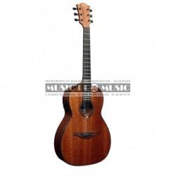 Lâg T90PE - Guitare électro-acoustique parlor acajou