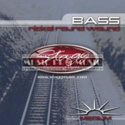Stagg BA-4505 - Jeu de cordes pour basse Medium 45-105