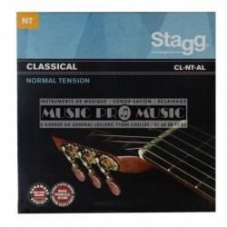 Stagg CL-NT-AL - Jeu de cordes Tension Normale pour guitare classique