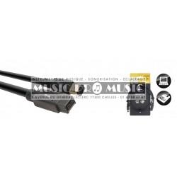 Stagg NCC1-5FW8FW6 - Câble Firewire 800 vers Firewire 400 1,5 mètres