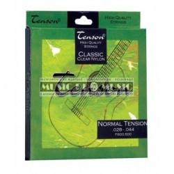 Tenson F600500 - Jeu de cordes 28-44 pour guitare classique