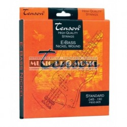 Tenson F600905 - Jeu de cordes pour basse 5 cordes standard 45-130