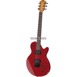 Lâg I66-DRD - Guitare électrique Imperator Dark Red