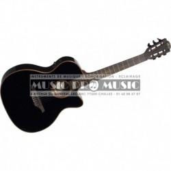 Lag TN100A14SCE-BLK - Guitare électro classisque 4/4 noir
