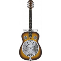 Stagg SR607-SB - Guitare Dobro à resonator