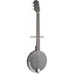"""Stagg BJW-OPEN6 - Banjo 6 cordes """"Open Back"""" avec tête de guitare"""