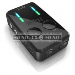 IK Multimedia IRIG-PRO-DUO - Carte son 2 canaux pour Ipad et Iphone