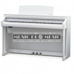 Kawai CA-67WH - Piano numérique blanc satiné avec meuble