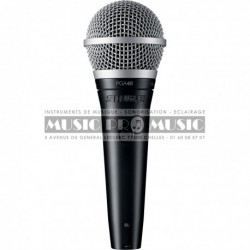 Shure PGA48-XLR - Micro chant cardioide dynamique avec câble XLR