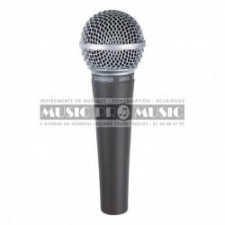 Shure SM58-LCE - Micro chant cardioide dynamique