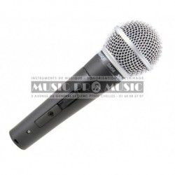 Shure SM58SE - Micro chant cardioide dynamique avec interrupteur on/off