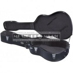 Gewa 523111 - Etui en bois pour guitare folk et électro-acoustique 12 cordes
