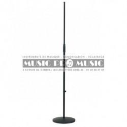 Music Pro Music MIS002-BK - Pied de micro droit avec embase lourde