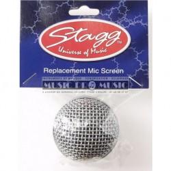 Stagg SPA-M58H - Bonnette de rechange en métal pour micro à tête sphérique