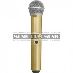 Shure WA712-GLD - Coque PG58 Or