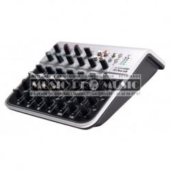 Alpha Audio 170300 - Mixette 4 entrées XLR + 2 stéréo USB