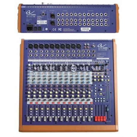 Alpha Audio 170350 - Table de mixage 16 canaux XLR + 4 stéréo