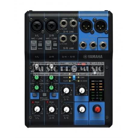 Yamaha MG06X - Table de mixage 6 canaux avec effets SPX