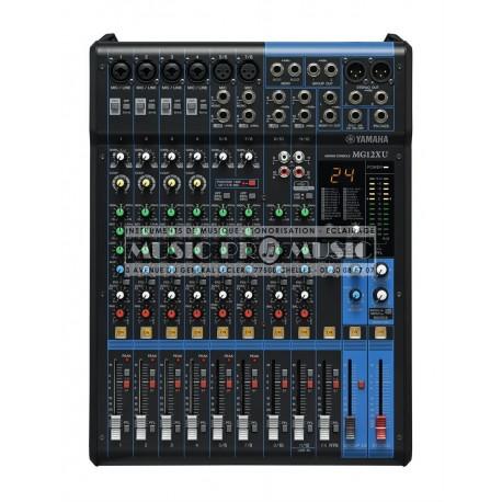 Yamaha MG12XU - Table de mixage 12 canaux avec effets spx