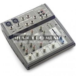 Stagg SMIX-2M2S-F-EU - Mixette 2 XLR + 2 stéréo