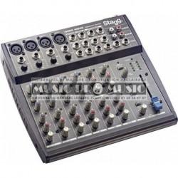 Stagg SMIX-4M4S-EU - Mixette 4 XLR + 4 stéréo
