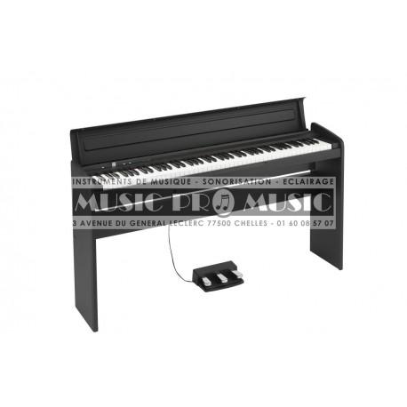 Korg LP-180BK - Piano numérique noir satiné avec meuble