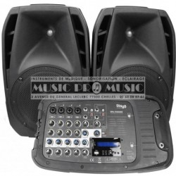 Stagg SPA-VIAGGIO-EU - Sonorisation portable 200w