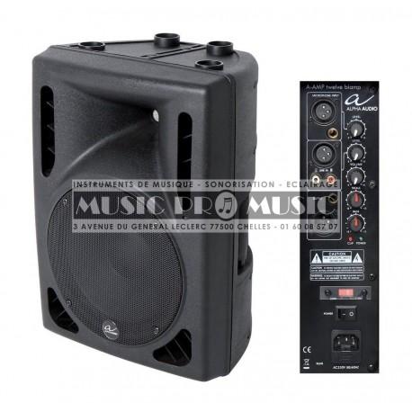 "Alpha Audio 170110 - Enceinte active 12"" bi-amplifiee 200W"