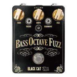Black Cat Pedals BCBOF - Pédale de fuzz pour basse Bass Octave Fuzz