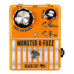 Black Cat Pedals BCMKF - Pédale d'effet fuzz Monster K-Fuzz