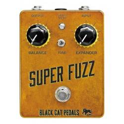 Black Cat Pedals BCSUP - Pédale d'effet fuzz Super Fuzz