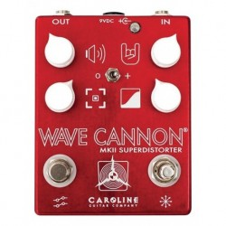 Caroline Guitar Company CARWAV - Pédale d'effet overdrive Wave Cannon mkII