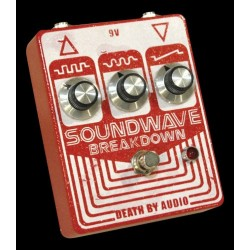 Death By Audio DBASOUND - Pédale d'effet fuzz Soundwave Breakdown