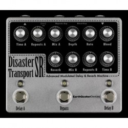 EarthQuaker Devices EQDDISR - Pédale d'effet délai Disaster Transport Sr
