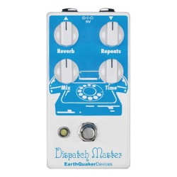 EarthQuaker Devices EQDDIS2 - Pédale d'effet reverb Dispatch Master v2