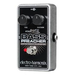 Electro-Harmonix EHXBPRE - Pédale de compression pour basse Bass Preacher