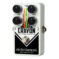 Electro-Harmonix EHXNCRA69 - Pédale d'effet overdrive Crayon 69