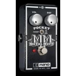 Electro-Harmonix EHXPMMUFF - Pédale d'effet distorsion Pocket Metal Muff