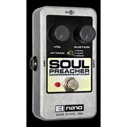 Electro-Harmonix EHXNASOPREA - Pédale d'effet compresseur Soul Preacher