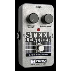 Electro-Harmonix EHXSTLEATH - Pédale de compression pour basse Steel Leather