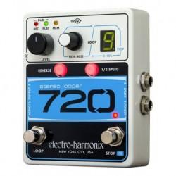 Electro-Harmonix EHX720 - Pédale d'effet looper 720 Stereo Looper