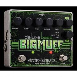 Electro-Harmonix EHXDLXBBM - Pédale de fuzz pour basse Deluxe Bass Big Muff