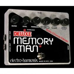 Electro-Harmonix EHXDLXMEMO - Pédale d'effet délai Deluxe Memory Man