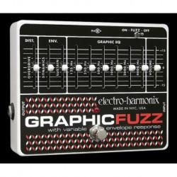 Electro-Harmonix EHXGRAP - Pédale d'effet fuzz Graphic Fuzz