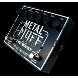 Electro-Harmonix EHXMETAL - Pédale d'effet distorsion Metal Muff