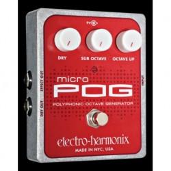 Electro-Harmonix EHXMIPOG - Pédale d'effet octaver Micro POG