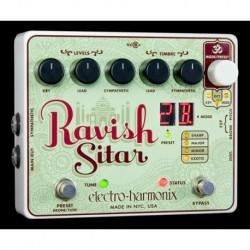Electro-Harmonix EHXRAVI - Pédale d'effet pitch/harmoniseur Ravish Sitar