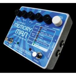 Electro-Harmonix EHXMEMO - Pédale d'effet délai Stereo Memory Man w/ Hazaraï